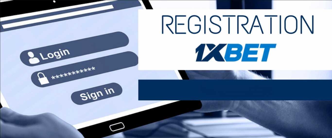 Register today on 1xBet